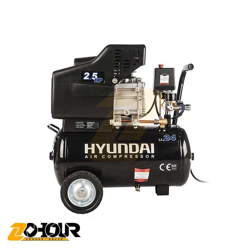کمپرسور هوا 25 لیتری هیوندای مدل HYUNDAI AC-2425