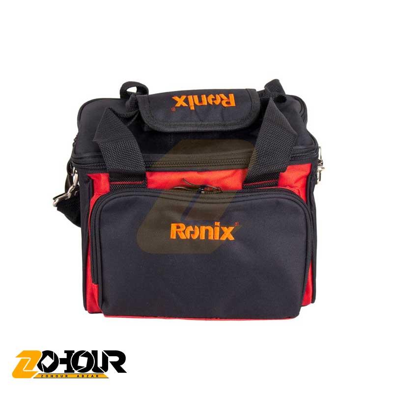 مینی کمپرسور سه کاره فندکی رونیکس مدل Ronix RH-4261B به همراه کیف