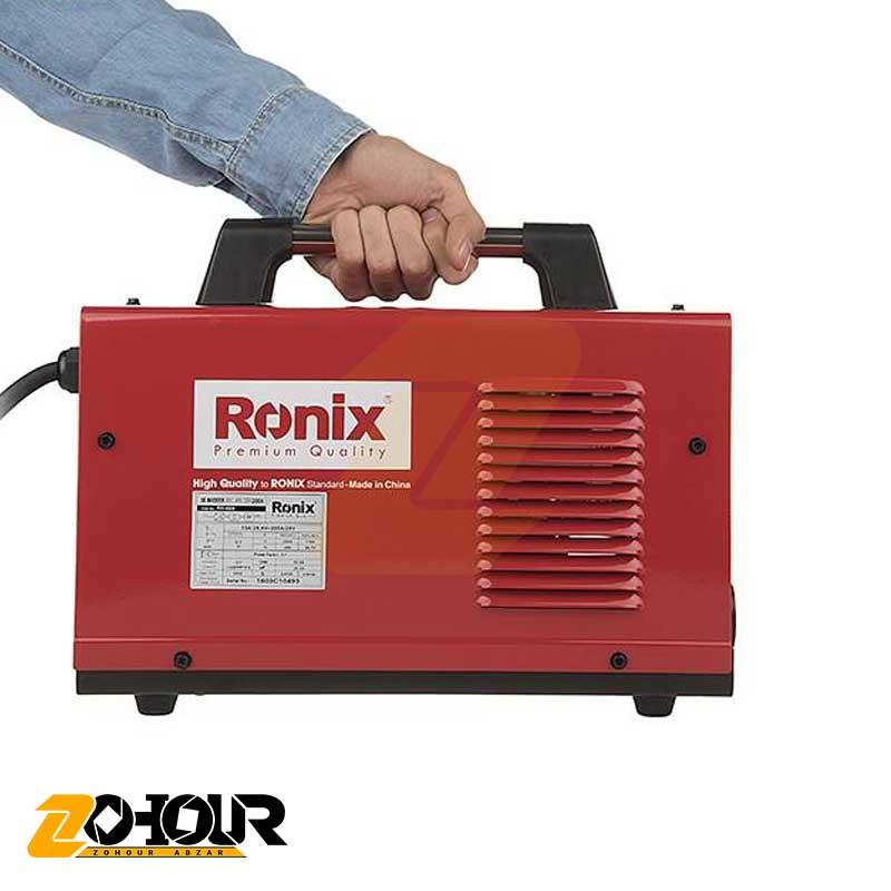 اینورتر جوشکاری 200 آمپر رونیکس مدل Ronix RH-4600