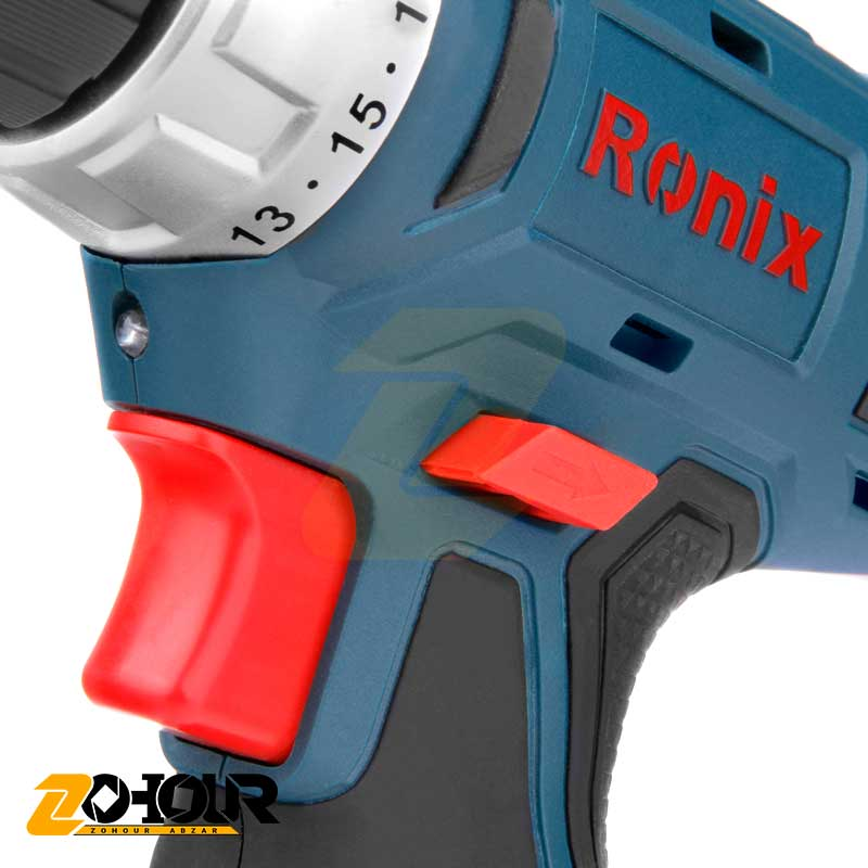 دریل پیچگوشتی شارژی 12 ولت رونیکس مدل Ronix 8012C