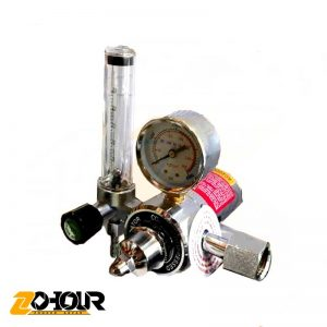 Co2 manometer with heater
