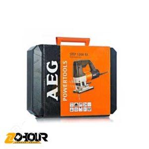 اره عمود بر دور متغییر 600 وات آاگ مدل AEG STEP1200BX