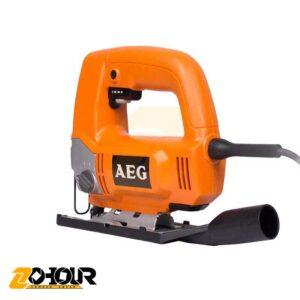 اره عمود بر دور متغییر 500 وات آاگ مدل AEG JS500E (1)