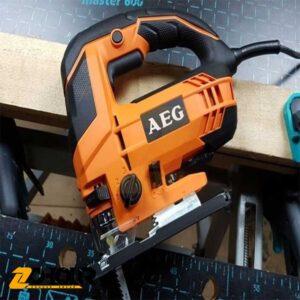 اره عمود بر دور متغییر 700 وات آاگ مدل AEG STEP80