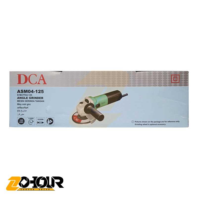 مینی فرز 1020 وات دی سی ای مدل DCA ASM04-125