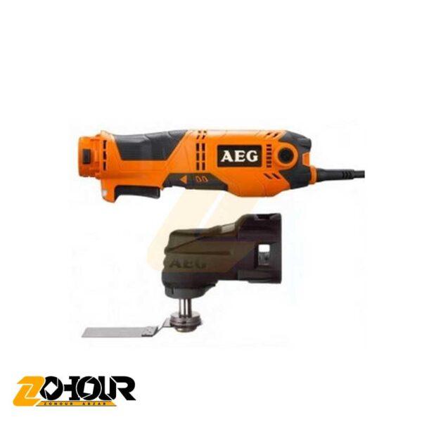 ابزار چند کاره برقي آاگ مدل AEG OMNI300-KIT1