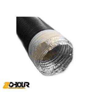 کانال فلکسیبل مدل عایق پلی استر فشرده (IFD) سایز 8 اینچ Flexible (20mm)