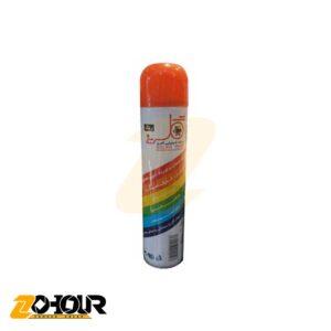 اسپری رنگ نارنجی گلریز حجم 300 میلی لیتر مدل GOLRIZ A10