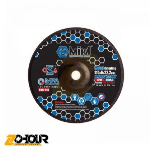صفحه سنگ ساب آهن 115میلی متری میکا مدل Mika CD-G 11560