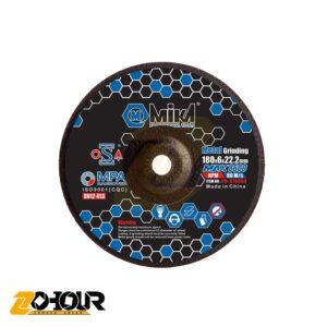 صفحه سنگ ساب آهن 180 میلی متری میکا مدل Mika CD-G 18060