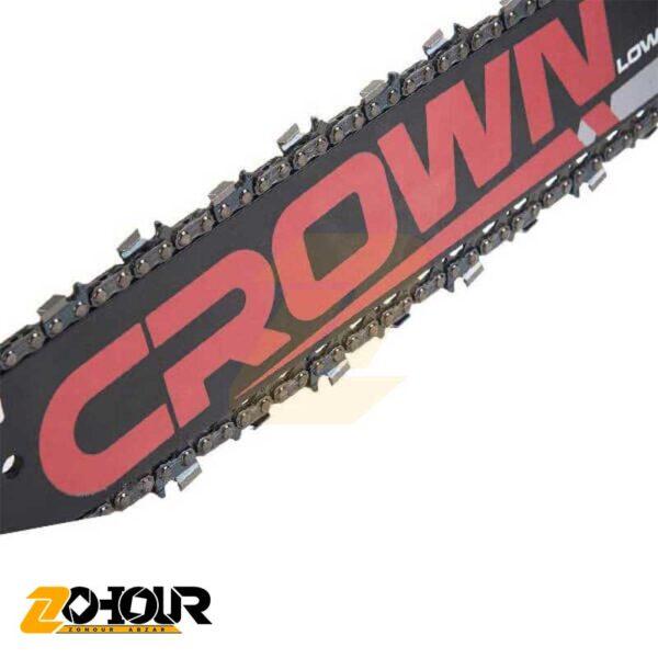 اره درخت بر بنزینی 54 سی سی کرون مدل Crown CT20102