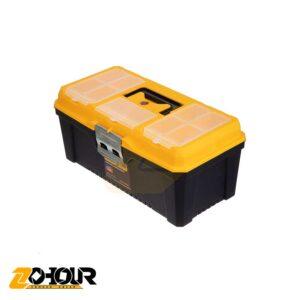 جعبه ابزار 16 اینچ قفل فلزی گلکسی وان مدل GALAXYONE TB16