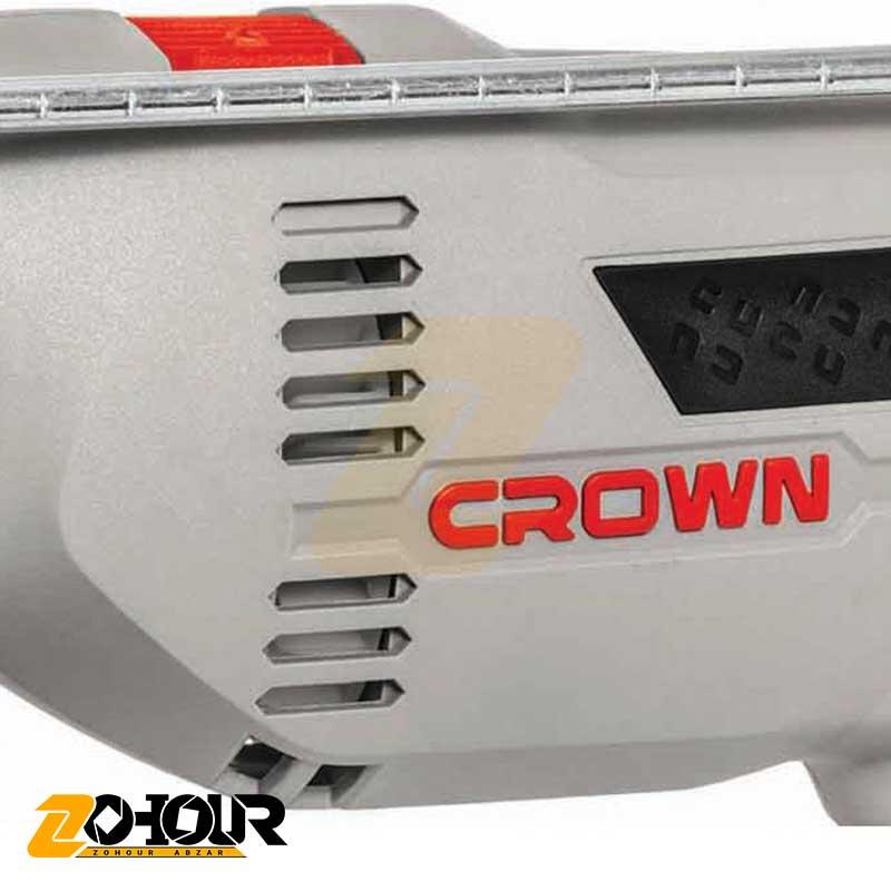 دریل چکشی 750 وات کرون مدل Crown CT10129