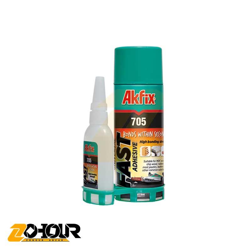 چسب ام دی اف 400 میلی لیتری آک فیکس Akfix Fast Adhesive