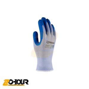 دستکش لاتکس آبی میداس مدل Midas