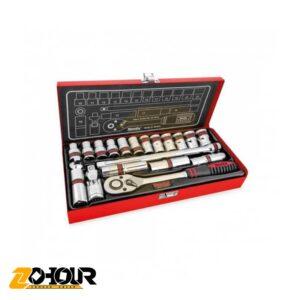 مجموعه 20 عددی آچار بکس رونیکس مدل Ronix RH-2620