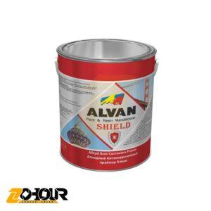 پرايمر آلكيدي (ضد زنگ-شیلد) اخرايي 940 الوان حجم یک کیلو ALVAN ALCO-2001