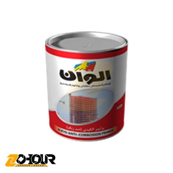 پرايمر آلكيدي (ضد زنگ) قهوه ای الوان حجم گالن ALVAN ALCO-2034