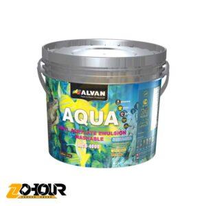پوشرنگ تمام پلاستیک مات الوان حجم 5 گالن الوان ALVAN ALCO-4009