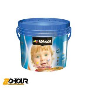 پوشرنگ نيم پلاستیک مات الوان (2) حجم گالن الوان ALVAN ALCO-4005