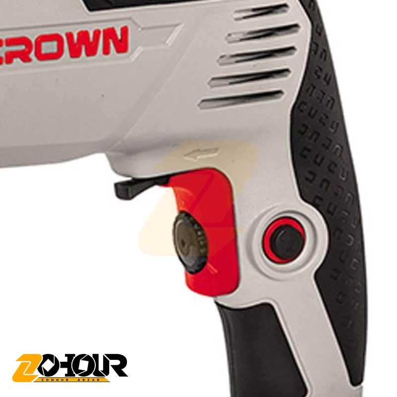 دریل چکشی کرون 600 وات مدل Crown CT10128
