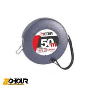 متر گرد مهندسی نوار فلزی 50 متری مدیا مدل MEDIA MD13010450