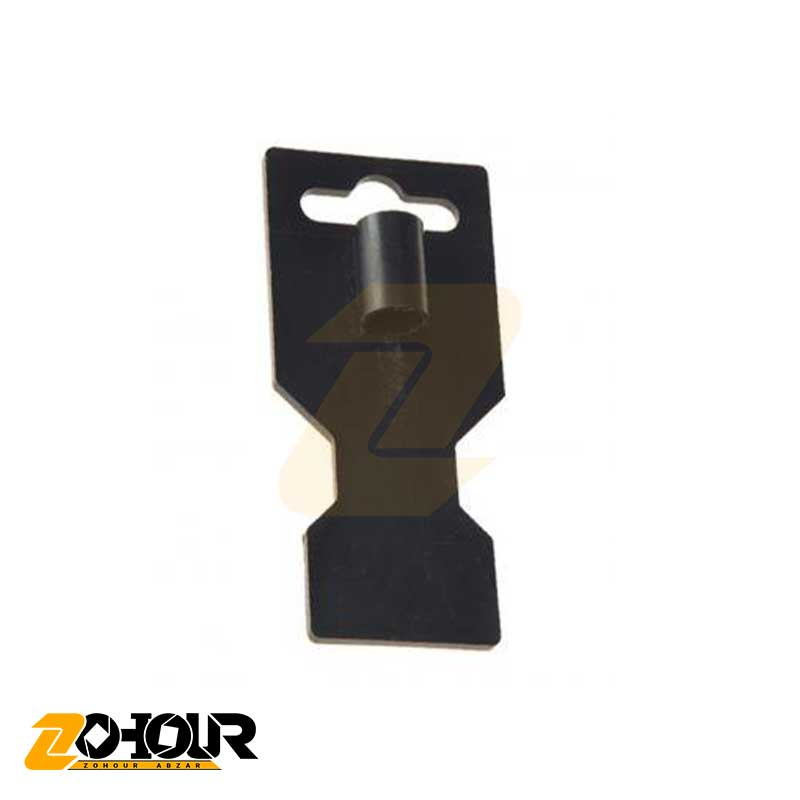 آویز پلاستیکی قلم و سنبه با مقطع بیضی شکل سایز 13×23 ایران پتک مدل Iran Potk LA 8110