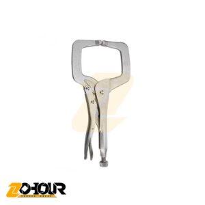 انبر قفلی C شکل سایز 11 اینچ ایران پتک مدل Iran Potk HD 1110