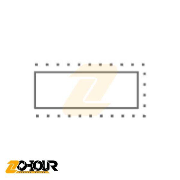 سوهان دقیق تخت سایز 200 میلیمتر ایران پتک مدل Iran Potk PD 10206