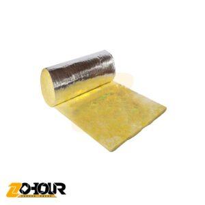 پشم شیشه سایز 2 اینچ فویل آلومینیوم ایران