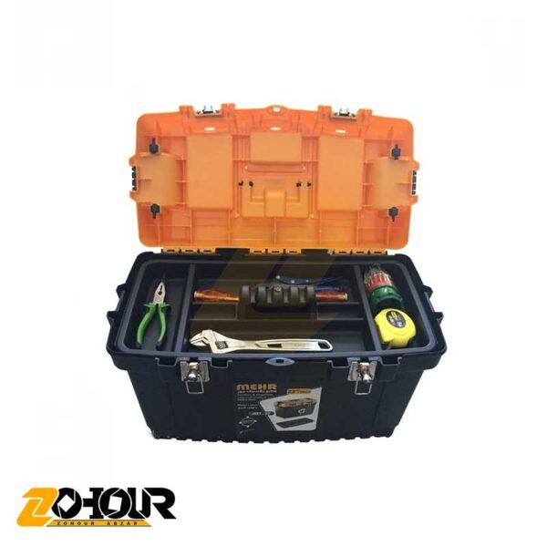 جعبه ابزار پلاستیکی مهر مدل MEHR JMT22