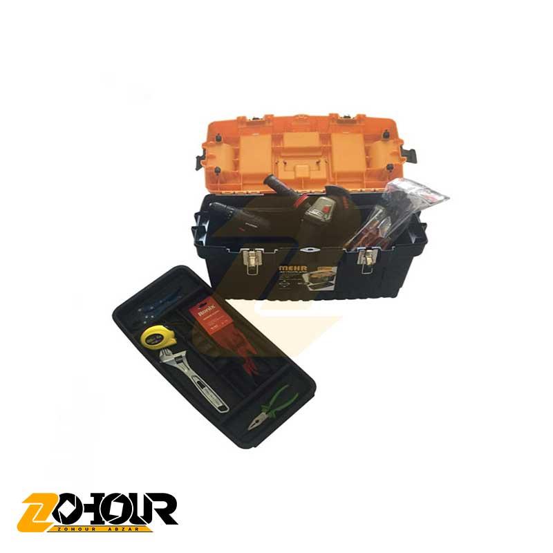 جعبه ابزار پلاستیکی مهر مدل MEHR MT22