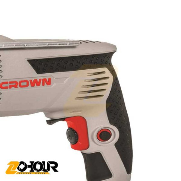 دریل چکشی 600 وات کرون مدل Crown CT10128C