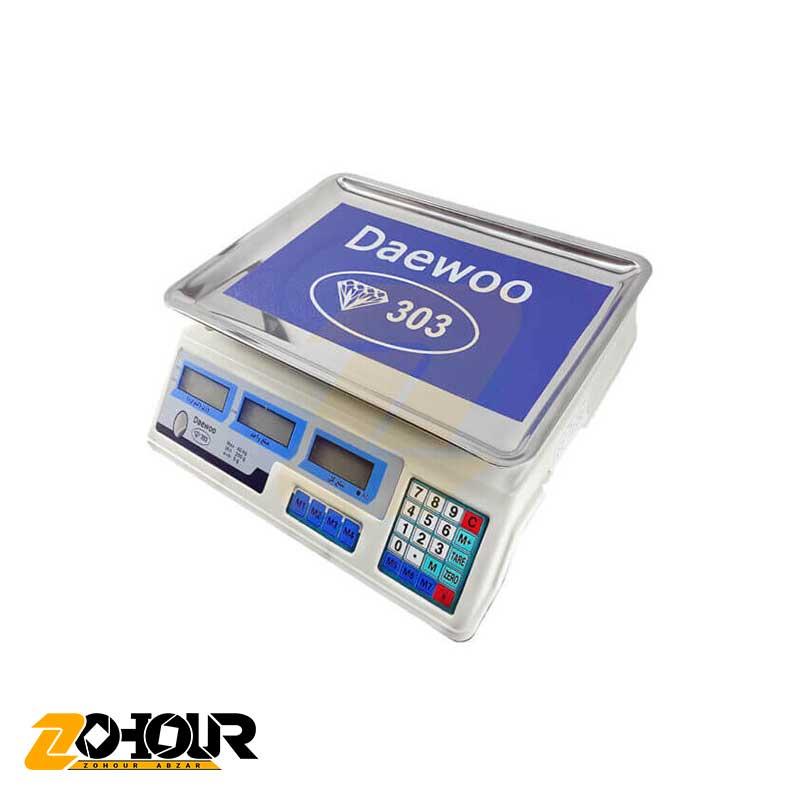 ترازو فروشگاهی 40 کیلویی دیوو مدل 303 Daewoo