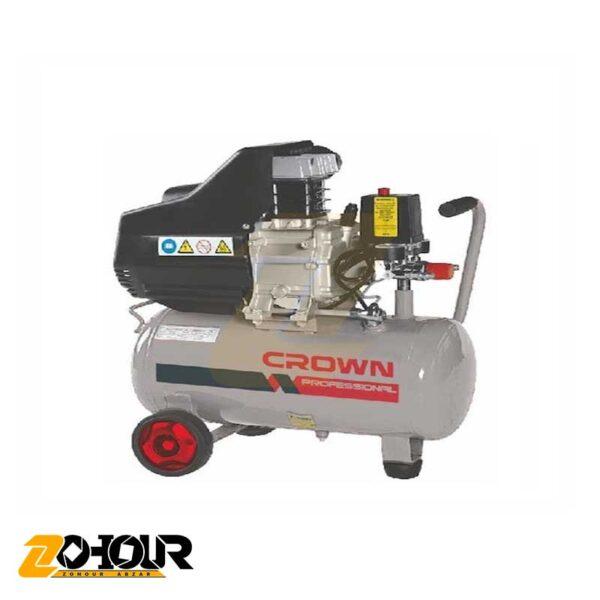 کمپرسور باد 50 لیتری کرون مدل Crown CT36029