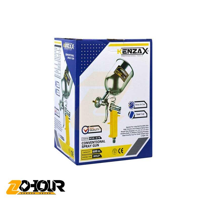 پیستوله بادی دو تنظیم طرح استرو کاسه فلزی کنزاکس مدل Kenzax KSG-E70