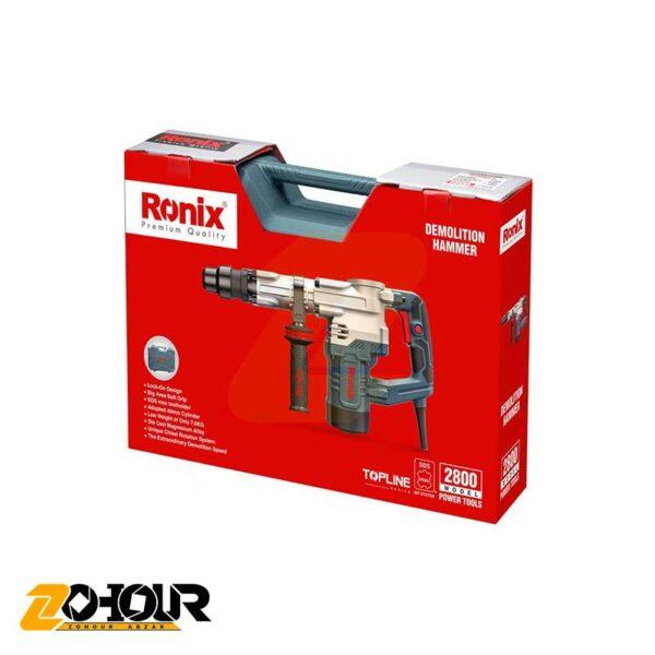 چکش تخریب 7 کیلویی رونیکس مدل Ronix 2800