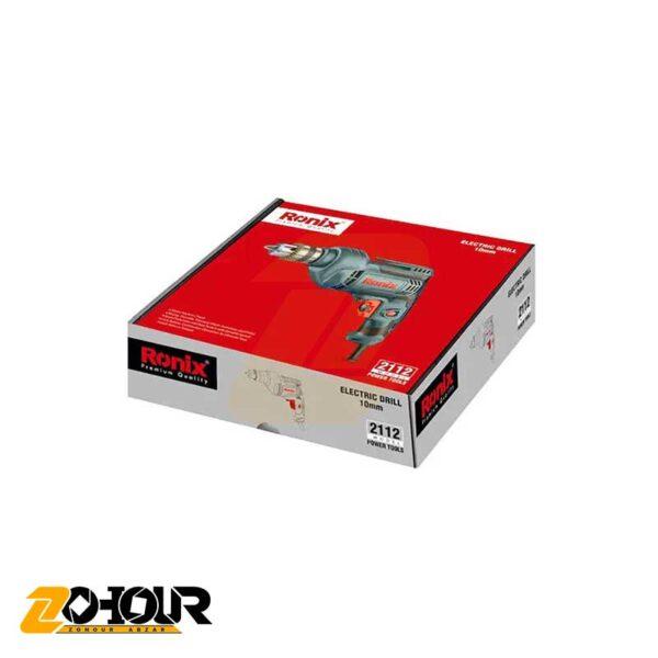 دریل 450 وات 10 میلیمتری آچاری رونیکس مدل Ronix 2112