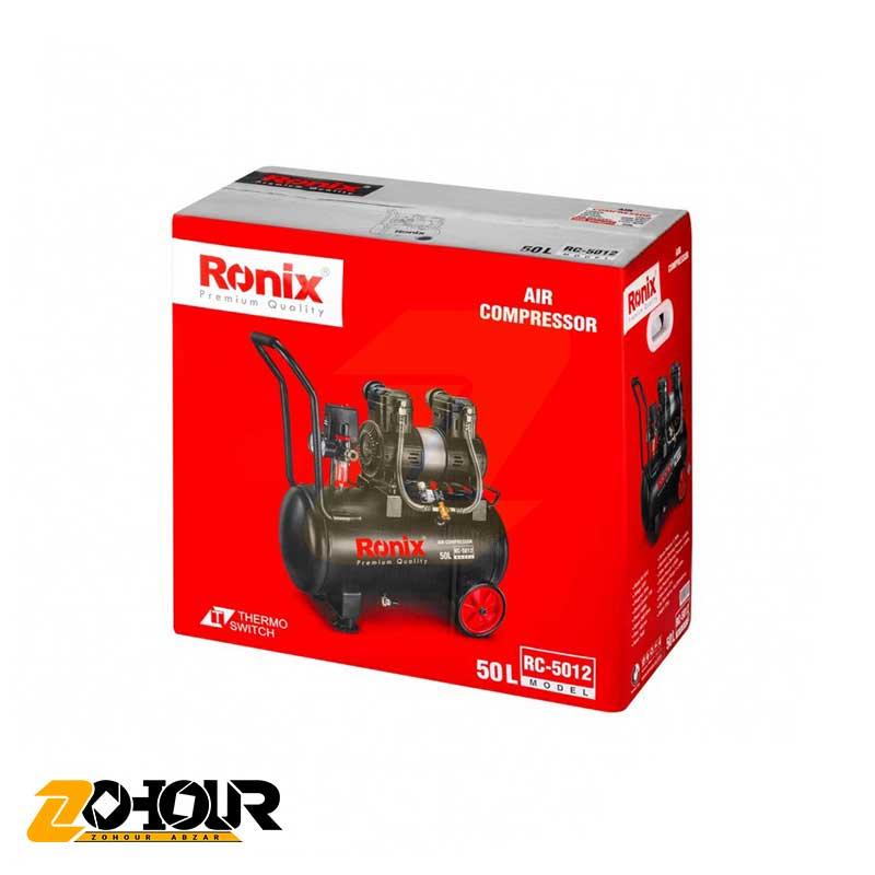 کمپرسور باد بی صدا 50 لیتری رونیکس مدل Ronix RC-5012