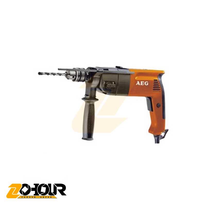 دریل 13 چکشی گيربکسی 700 وات آاگ مدل AEG SB2-700